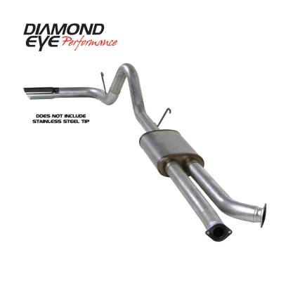 Diamond Eye Performance - Diamond Eye Performance 2007-2009 TOYOTA TUNDRA 5.7L (ALL CAB AND BED LENGTHS) 3.5in. ALUMINIZED-PERFORM K3420A