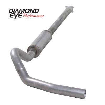 Diamond Eye Performance - Diamond Eye Performance 2001-2005 CHEVY/GMC 6.6L DURAMAX 2500/3500 (ALL CAB AND BED LENGHTS)-4in. ALUMIN K4110A