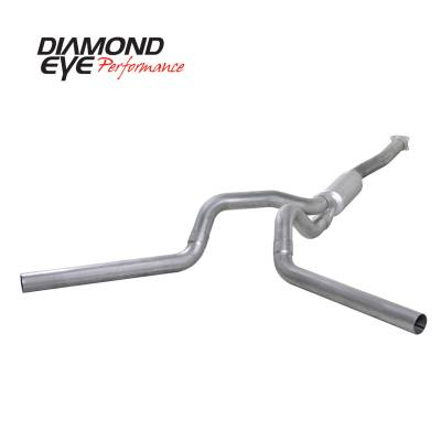 Exhaust - Exhaust Systems - Diamond Eye Performance - Diamond Eye Performance 2001-2005 CHEVY/GMC 6.6L DURAMAX 2500/3500 (ALL CAB AND BED LENGTHS)-4in. ALUMIN K4112A