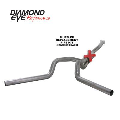 Exhaust - Exhaust Systems - Diamond Eye Performance - Diamond Eye Performance 2001-2005 CHEVY/GMC 6.6L DURAMAX 2500/3500 (ALL CAB AND BED LENGTHS)-4in. 409 ST K4112S-RP