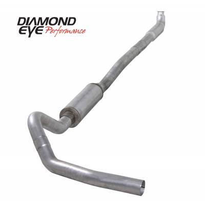 Exhaust - Exhaust Systems - Diamond Eye Performance - Diamond Eye Performance 2001-2007.5 CHEVY/GMC 6.6L DURAMAX 2500/3500 (ALL CAB AND BED LENGTHS)-4in. ALUM K4113A