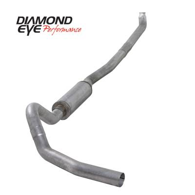 Exhaust - Exhaust Systems - Diamond Eye Performance - Diamond Eye Performance 2001-2007.5 CHEVY/GMC 6.6L DURAMAX 2500/3500 (ALL CAB AND BED LENGTHS)-4in. ALUM K4114A