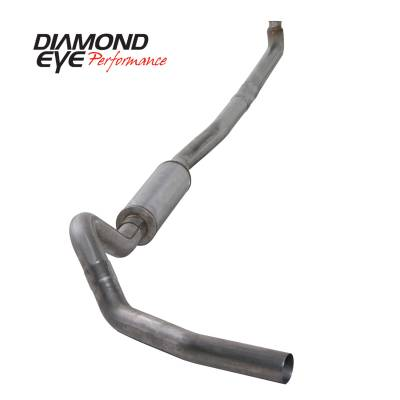 Exhaust - Exhaust Systems - Diamond Eye Performance - Diamond Eye Performance 2001-2007.5 CHEVY/GMC 6.6L DURAMAX 2500/3500 (ALL CAB AND BED LENGTHS)-4in. 409 K4114S
