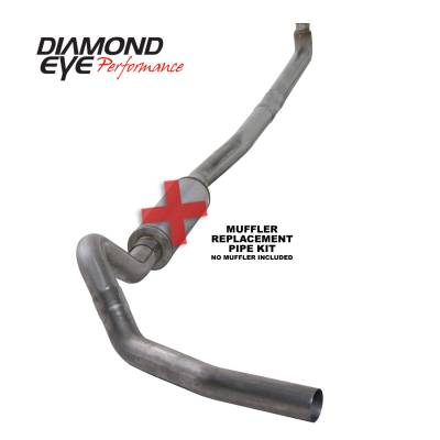 Diamond Eye Performance - Diamond Eye Performance 2001-2007.5 CHEVY/GMC 6.6L DURAMAX 2500/3500 (ALL CAB AND BED LENGTHS)-4in. 409 K4114S-RP