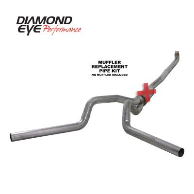 Exhaust - Exhaust Systems - Diamond Eye Performance - Diamond Eye Performance 2001-2007.5 CHEVY/GMC 6.6L DURAMAX 2500/3500 (ALL CAB AND BED LENGTHS) 4in. 409 K4116S-RP
