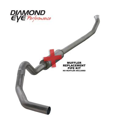Exhaust - Exhaust Systems - Diamond Eye Performance - Diamond Eye Performance 2003-2004.5 DODGE 5.9L CUMMINS 2500/3500 (ALL CAB AND BED LENGTHS)-4in. 409 STAI K4218S-RP