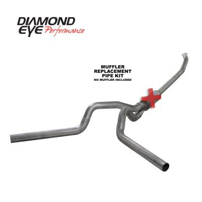 Diamond Eye Performance - Diamond Eye Performance 2003-2004.5 DODGE 5.9L CUMMINS 2500/3500 (ALL CAB AND BED LENGTHS)-4in. 409 STAI K4220S-RP