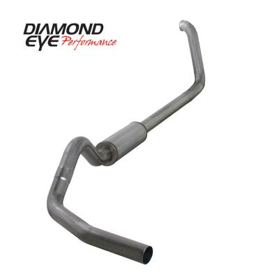 Exhaust - Exhaust Systems - Diamond Eye Performance - Diamond Eye Performance 1999-2003.5 FORD 7.3L POWERSTROKE F250/F350 (ALL CAB AND BED LENGTHS) 4in. 409 S K4318S