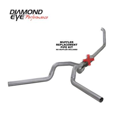 Diamond Eye Performance - Diamond Eye Performance 1999-2003.5 FORD 7.3L POWERSTROKE F250/F350 (ALL CAB AND BED LENGTHS) 4in. ALUMI K4320A-RP