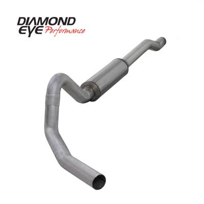Diamond Eye Performance - Diamond Eye Performance 2003-2006 FORD 6.0L POWERSTROKE EXCURSION-4in. ALUMINIZED-PERFORMANCE DIESEL EXH K4354A