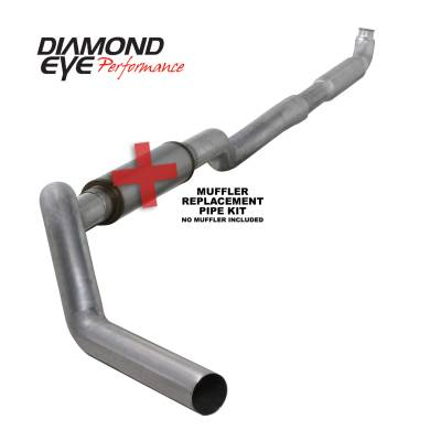 Exhaust - Exhaust Systems - Diamond Eye Performance - Diamond Eye Performance 2001-2007.5 CHEVY/GMC 6.6L DURAMAX 2500/3500 (ALL CAB AND BED LENGHTS) 5in. ALUM K5117A-RP