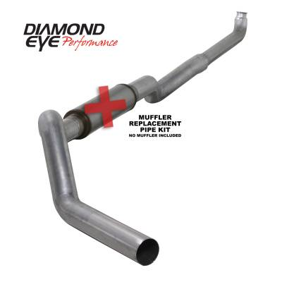 Diamond Eye Performance - Diamond Eye Performance 2001-2007.5 CHEVY/GMC 6.6L DURAMAX 2500/3500 (ALL CAB AND BED LENGHTS) 5in. ALUM K5118A-RP