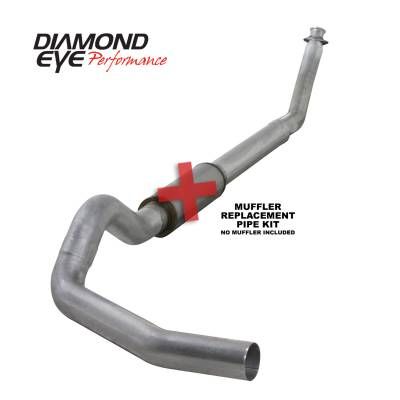 Diamond Eye Performance - Diamond Eye Performance 1994-2002 DODGE 5.9L CUMMINS 2500/3500 (ALL CAB AND BED LENGTHS)-5in. ALUMINIZED K5216A-RP