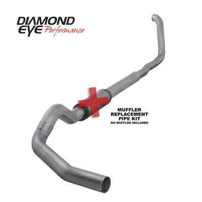 Diamond Eye Performance - Diamond Eye Performance 1999-2003.5 FORD 7.3L POWERSTROKE F250/F350 (ALL CAB AND BED LENGTHS) 5in. ALUMI K5322A-RP