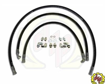 "Deviant Race Parts - Deviant 1/2"" LEAK FREE Transmission Cooler Repair Lines For 01-05 GM Duramax"
