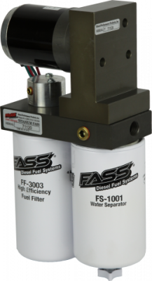 FASS Fuel Systems - Titanium Series Diesel Fuel Lift Pump 95GPH GM Duramax 6.6L 2015-2016