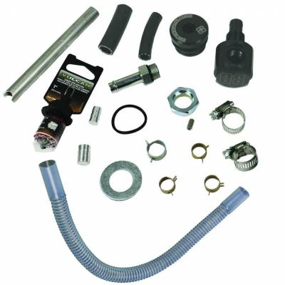 BD Diesel - Flow-MaX High Flow Top Draw Straw Kit