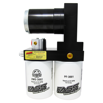 FASS Fuel Systems - Titanium Signature Series Diesel Fuel Lift Pump 165GPH GM Duramax 6.6L 2001-2010