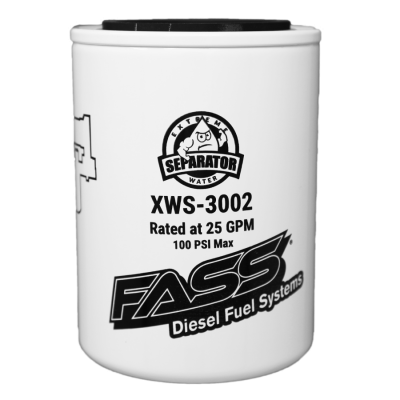 FASS Fuel Systems - XWS-3002 Extreme Water Separator