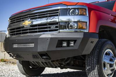 Exterior Accessories - Bumpers - Rough Country - Chevy Heavy-Duty Front LED Bumper (15-19 Silverado 2500 HD/3500 HD)
