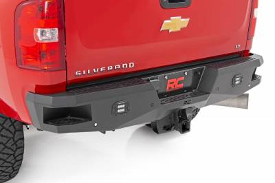 Rough Country - GM Heavy-Duty Rear LED Bumper (11-19 2500/3500)
