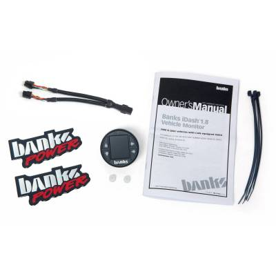 Banks Power - Banks iDash 1.8 Super Gauge Universal CAN, Gauge Expansion Kit - Image 3