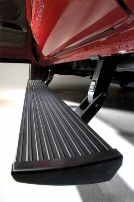 AMP Research - AMP Research 76247-01A PowerStep Electric Running Boards Plug N Play System for 2017-2019 Silverado/Sierra 2500/3500 Diesel Only, Double and Crew Cab - Image 2