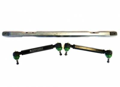 Kryptonite Steering & Suspension Products - KRYPTONITE SS SERIES CENTER LINK TIE ROD PACKAGE 2001-2010