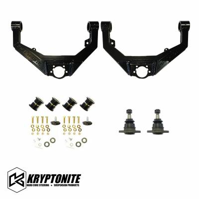 Suspension - Kryptonite Steering & Suspension Products - KRYPTONITE UPPER CONTROL ARM KIT 2001-2010
